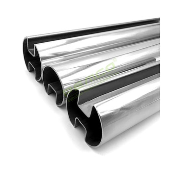 Factory Price Stainless Steel 304 Slotted Pipe Stainless Round Slotted Tube
