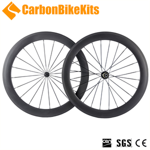 CBK 700c PW60T bicycle carbon road wheelset with 6 pawls alloy J-bend hubs