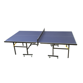 Cheap MDF top portable wheels table tennis equipment set ping pong table