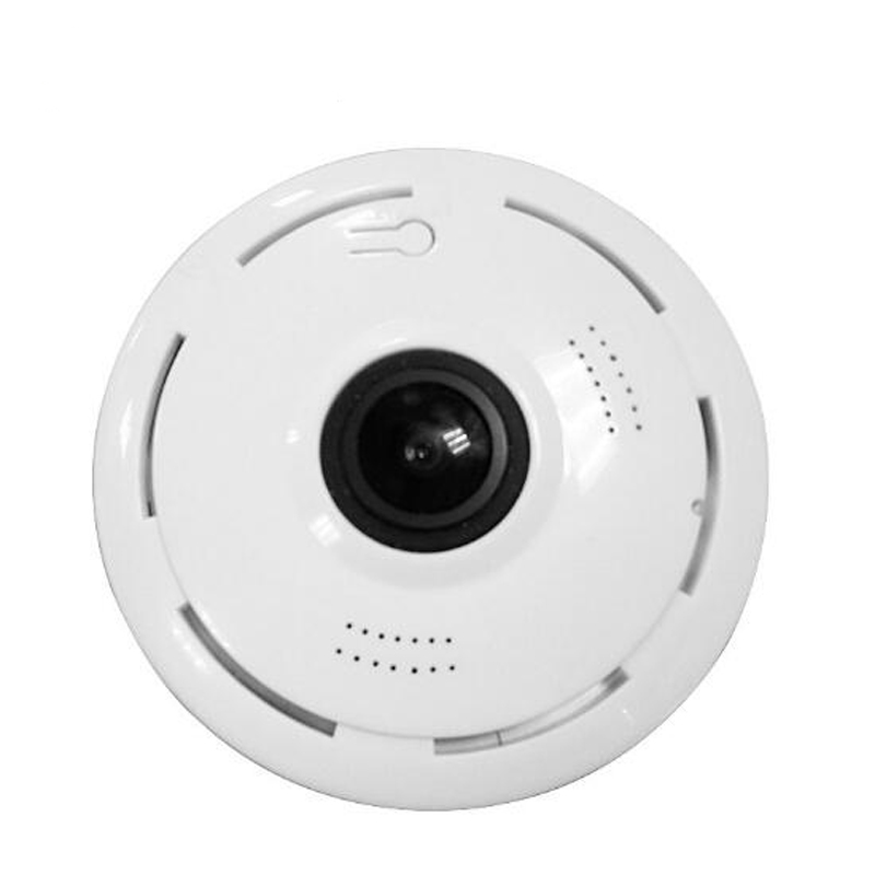 Panoramic 360 Degree CCTV IP Wifi Smart Net Camera V380 By mobile App  Monitor