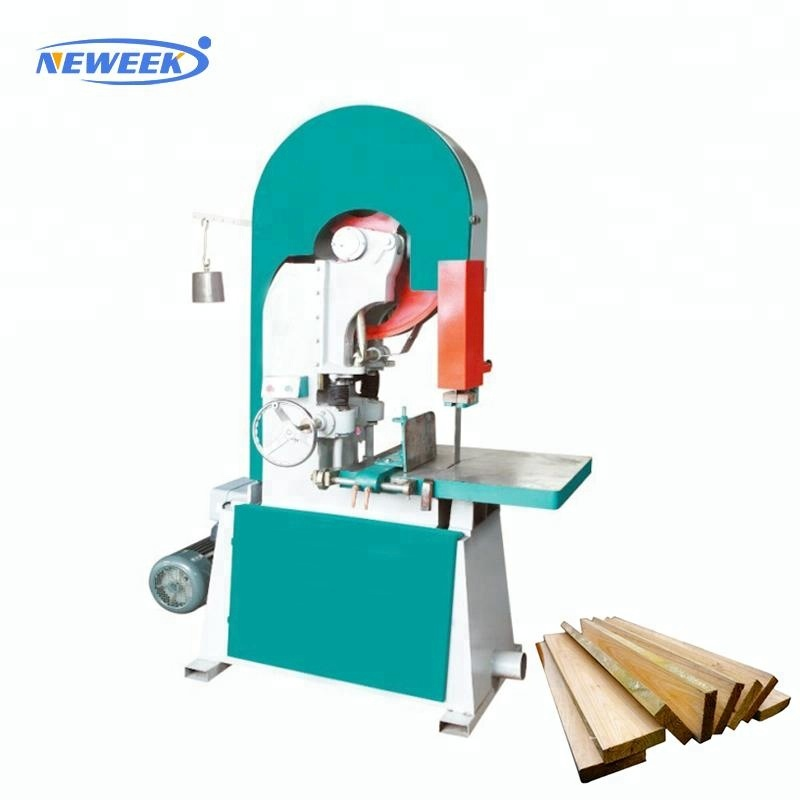 Neweek timber working wood cutting vertical band saw machine