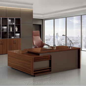 Modern Round Luxury Wooden Boss Director Office Executive Table Office Desk  For Individual - Buy Office Furniture For Travel Agency,Office Furniture ...