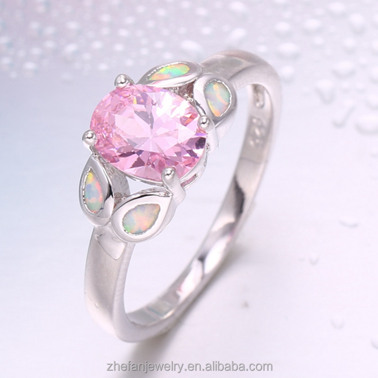 Factory price ring women jewelry Customized