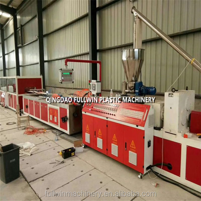 pvc profile production manufacturing line / pvc ceiling wall panel making machine with China factory price