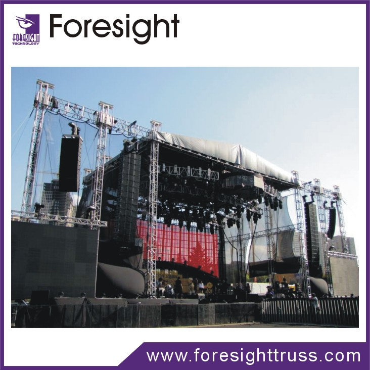 On Sale Aluminum Dj Equipment Easy Install Stage Lighting Roof Truss System  For Event - Buy Easy Install Stage Lighting Truss,Dj Equipment,Aluminum