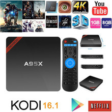 New Cheap Original TV Box 4k Kodi Fully Loaded A95X 1G/8GAndroid Smart Tv Box