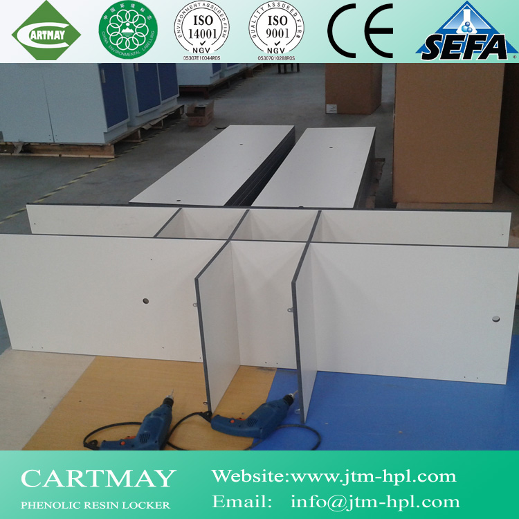 2015 new style phenolic resin change locker for Uzbekistan hospital