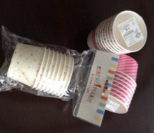 7oz single wall ice cream paper cup disposable,cup ice cream