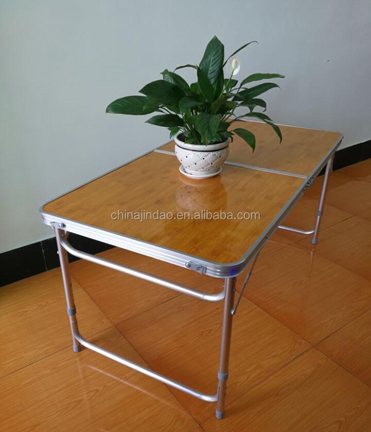 Multifunctional Aluminum Portable Folding Picnic Dining Bench Table