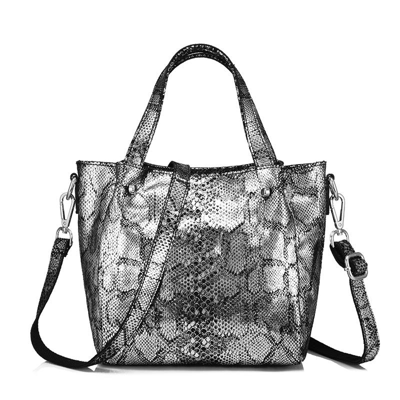 REALER/женские сумки-мессенджеры из натуральной кожи, женские сумки через плечо, сумка-тоут с серпантиновыми принтами, женская сумка с верхней ...(Китай)