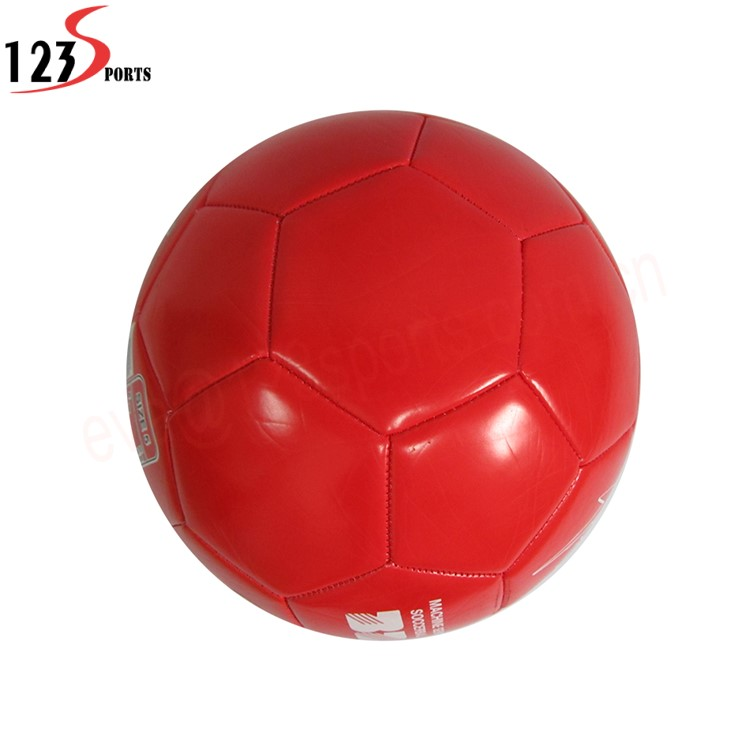 Custom size and logo match PU laminated football soccer