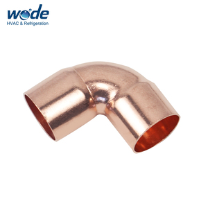 copper tube fitting compression fitting female elbow 90 degree pipe fitting  tube fitting