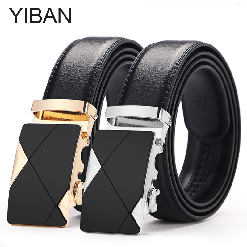Man automatically buckle leather, leather, cowhide, business and leisure belt man