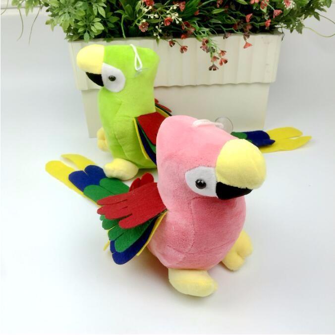 Pendentif De Cm Mignon Coloré Avec Queue Ventouse Longue En Peluche Perroquet 1 Cadeau 48 Poupées Jouet Maison Pc Oiseaux VSzpUM