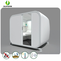 Mobile Rectangle Capsule Hotel Tents For resort tent