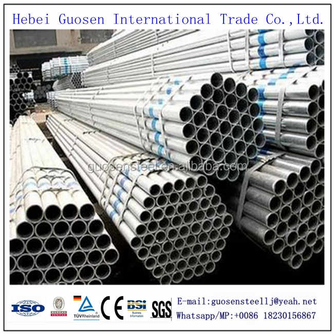 Hebei Factory Pirce Q235 48mm Scaffolding Hot Dip Galvanized Steel Pipe (48mm Scaffolding Galvanized Steel Pipe Price)