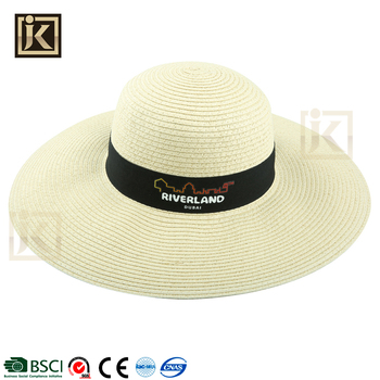 94da765f409a1 JIKIJIAYI french big brim beach floppy hat foldable wholesale new design straw  hat bodies