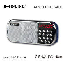 Mini AM/FM radio mp3 player speaker with USB Memory card