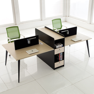 New design modern 4 person office furniture Computer Workstation