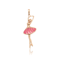 33996 xuping fashion copper jewelry baby girl pendant with gold plated
