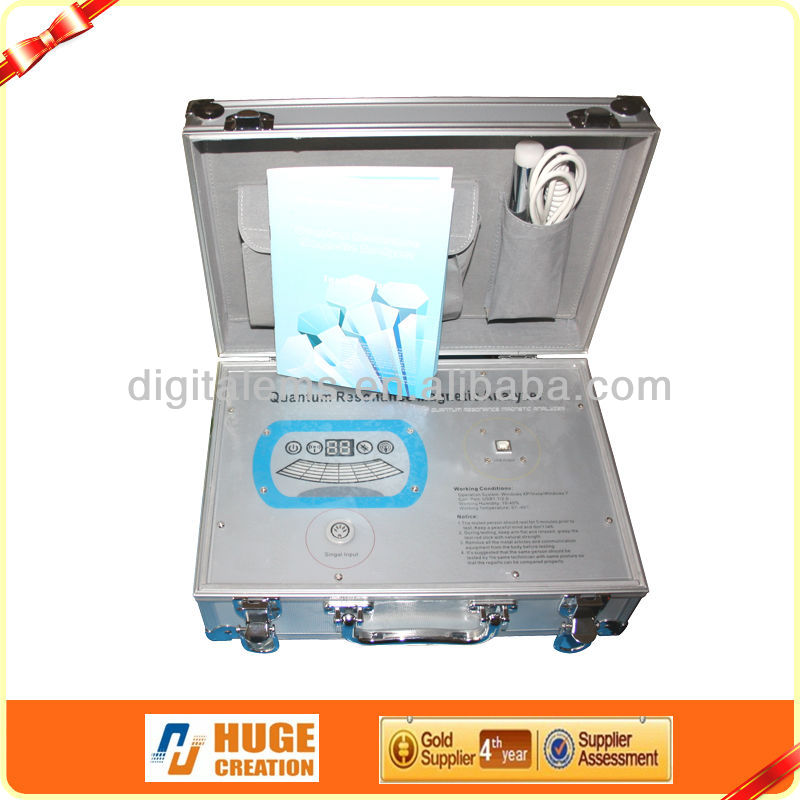 2016 latest quantum magnetic resonance body analyzer with Blood analysis report