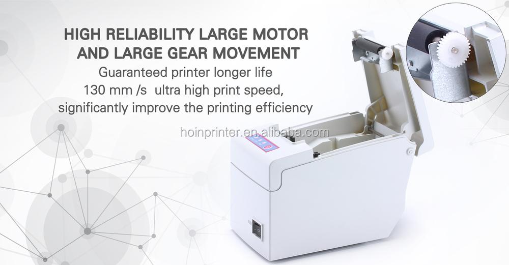 Receipt Printer HOP-E58 With POS-58mm Printer Drivers, View Receipt Printer  HOP-E58, Hoin Product Details from Shenzhen Hoin Electronic Technology