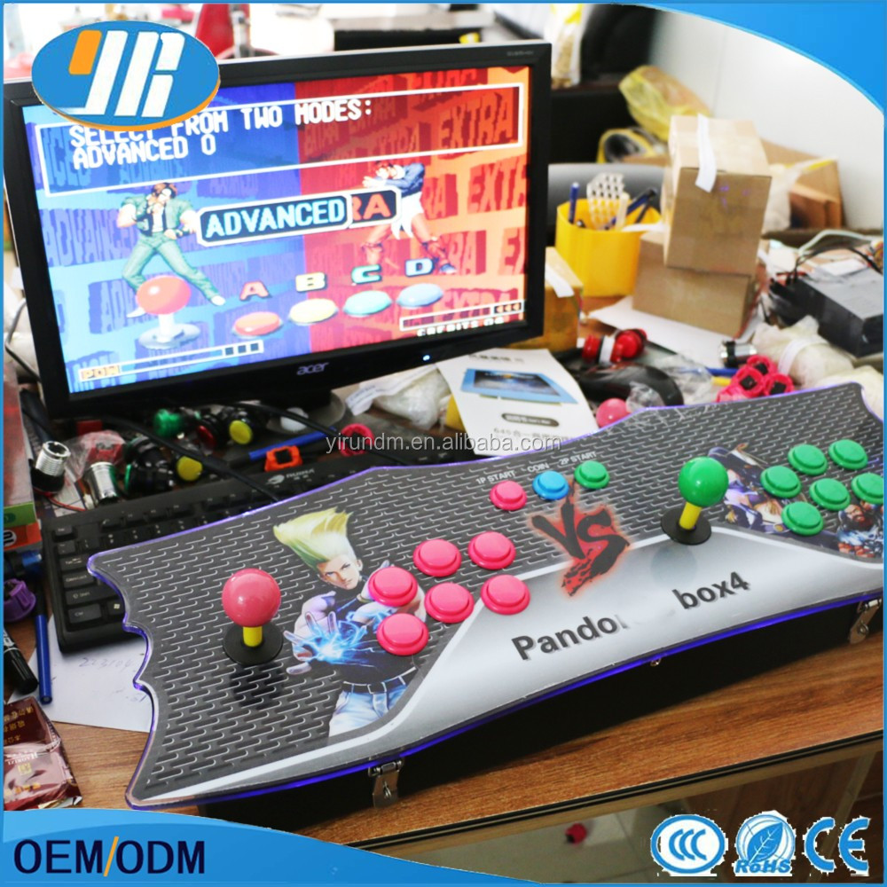 2017 Popular Arcade console VGA HDMI output 680 games in 1support the game pause