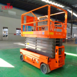 Heavy duty battery ladder lift scissor lift aerial work platform GENIE JLG SKYJACK man lift