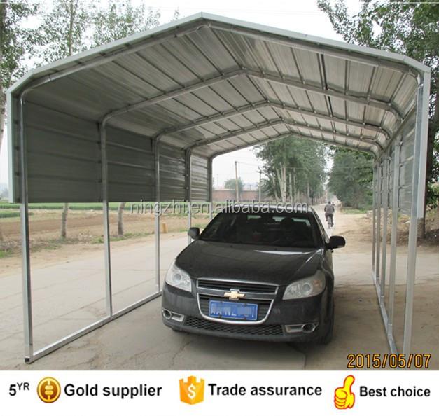 Metalen gegalvaniseerd schuur carport ontwerp garages for Car shed design