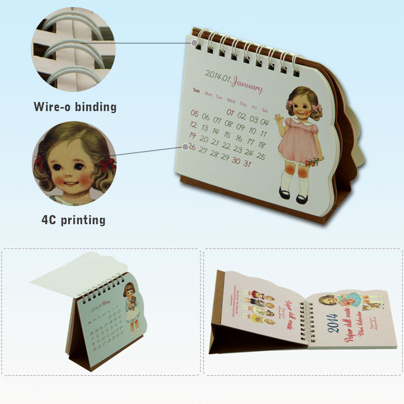 2015 Table Design Office Desk 365 Memo Mini Pocket Calendar