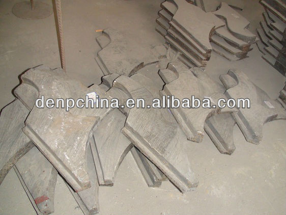 HIGH EFFICIENCY AND HOT SALE VSI CRUSHER PARTS UPPER RUNNER PLATE FOR SALE IN CHINA