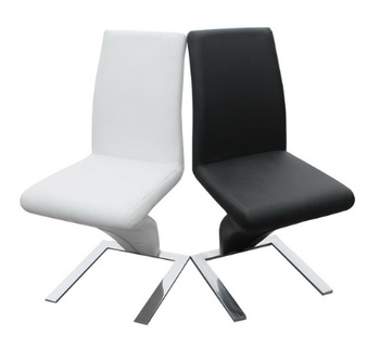 Fantastic New Design Black Leather Z Shape Dining Chair Buy Black Leather Z Shape Dining Chair Modern Dining Chairs White Leather Dining Chairs Product On Squirreltailoven Fun Painted Chair Ideas Images Squirreltailovenorg