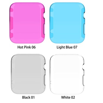 TPU Protection Case Cover For Apple Watch Series 2 3842mm Bumper Durable