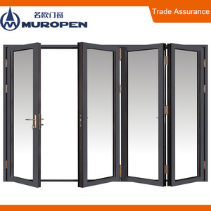 Latest residential design wholesale cheap interior magnet folding doors