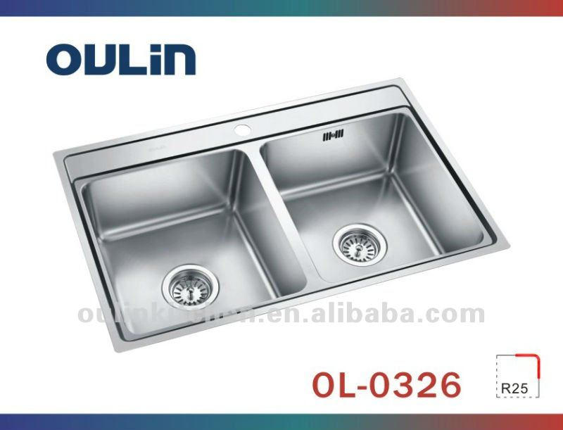 Oulin Kitchen Insert Stainless Steel Kitchen Sink (ol 0326)   Buy Kitchen  Insert,Stainless Steel Kitchen Sink,Farmhouse Sink Product On Alibaba.com