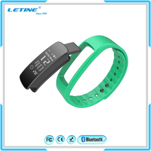 Ce Intelligent Silicon Rubber Health Sport Fitness Tracker Wrist Band Bluetooth Smart Bracelet Heart Rate Vibrating Watch