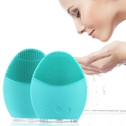 Electric Facial Cleaning Brush Washing Machine Waterproof Silicone Sonic Vibration Face Cleaner Skin Care Massager Beauty Device