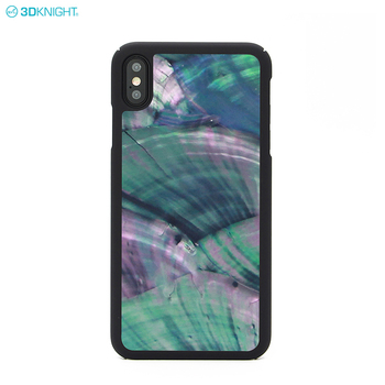 Personalized Gift Real Seashell Hard Cover Luxury Phone Case For Iphone XS MAX