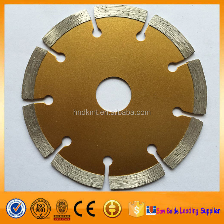 5 Inch sintered turbo diamond saw blades for cutting Granite, Concrete, Tile