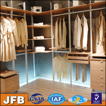 Moderne Möbel Begehbaren Kleiderschrank Modulair Aluminium ...
