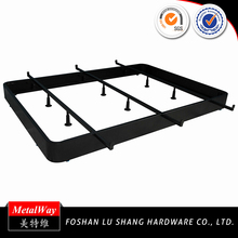 Hotel comfortable cheap metal bed frame fabrication