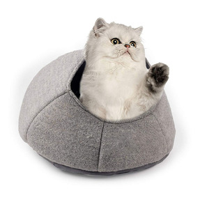 F230 Premium Handcrafts Cat Bed Cave 100% Handmade Cat Cave Kittens Foldable Handmade Cat Beds