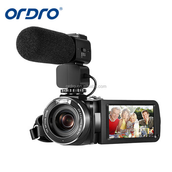 ORDRO HDV-Z82 24MP professional video camera with 10X Optical Zoom&120X Digital Zoom professioanl camera with External MIC