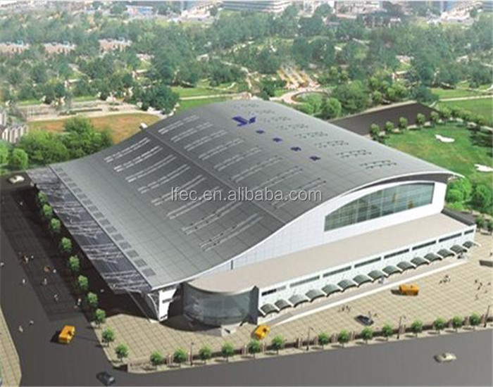 High Security Space Frame Steel Roofing Stadium Bleacher Cover