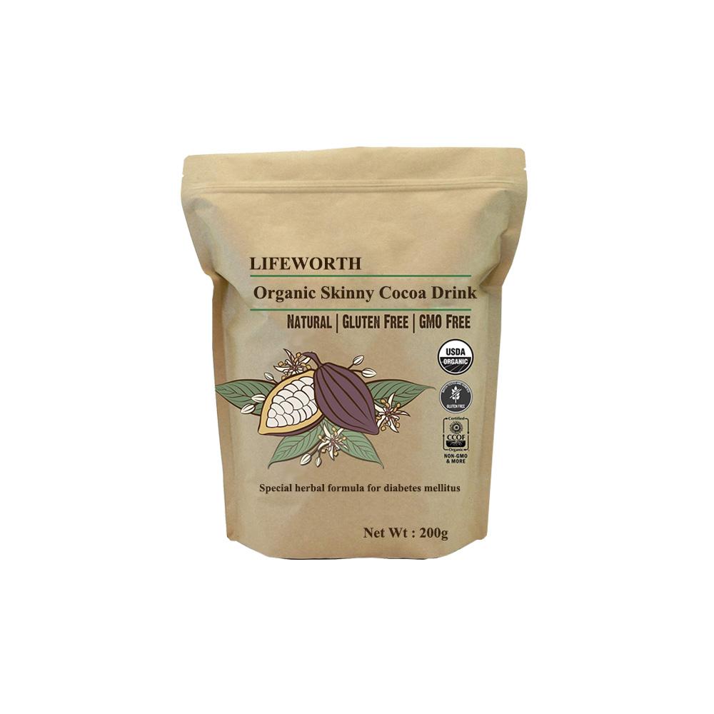 Lifeworth Natural Cocoa Powder Drink With Garcinia Cambogia Buy
