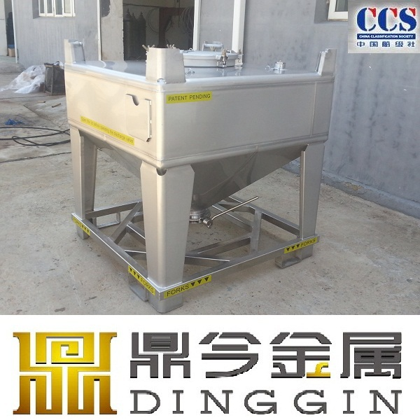 stainless steel antistatic liquid fuel and coating ibc tote tank