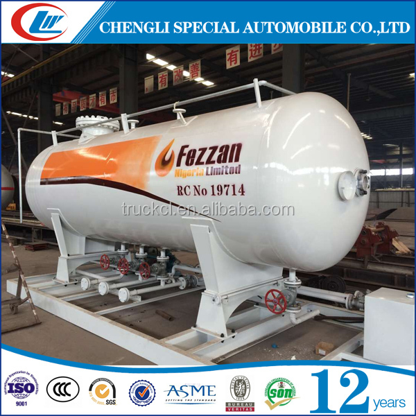Promotional 5MT Portable LPG station cooking gas cylinder filling equipment