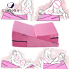 Sex Adjust the Position Memory Foam Bed Wedge Pillow with Washable Cover