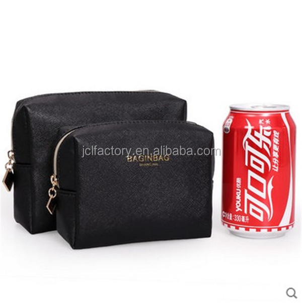 black toilet bag designer makeup bags