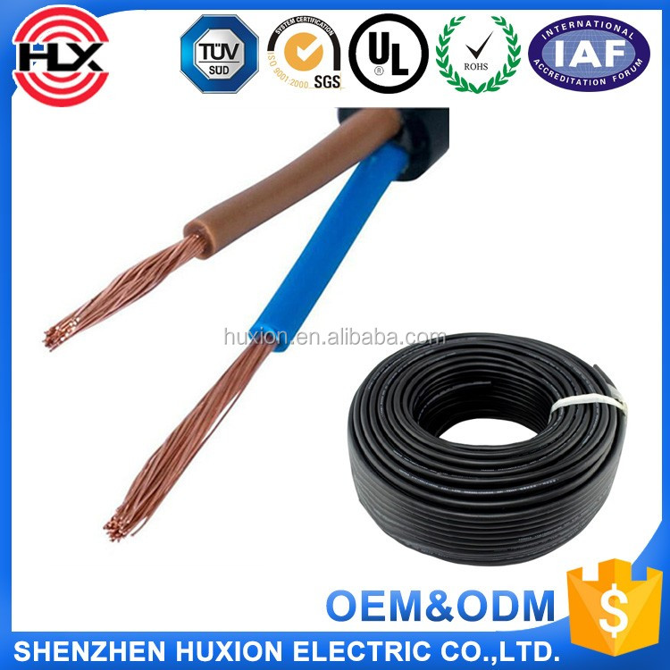 Electrical Wire Suppliers Ul2464 17*0.16,22 Gauge Electrical Wire ...